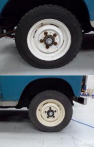 Felgen Land Rover Serie III